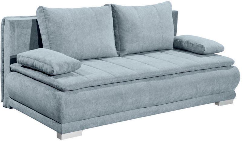 Schlafsofa in Textil, Holzwerkstoff Blau