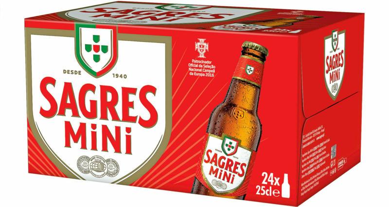 Sagres Bier 24 x 25 cl -