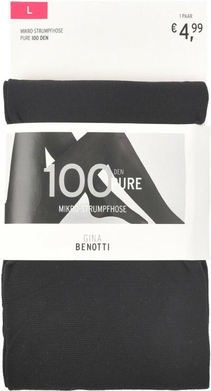 Damen Mikro-Strumpfhose mit 100 DEN (Nur online)