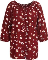 Damen Bluse mit Allover-Print (Nur online)