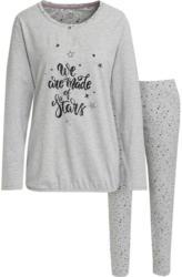 Damen Schlafanzug im Melange-Look (Nur online)