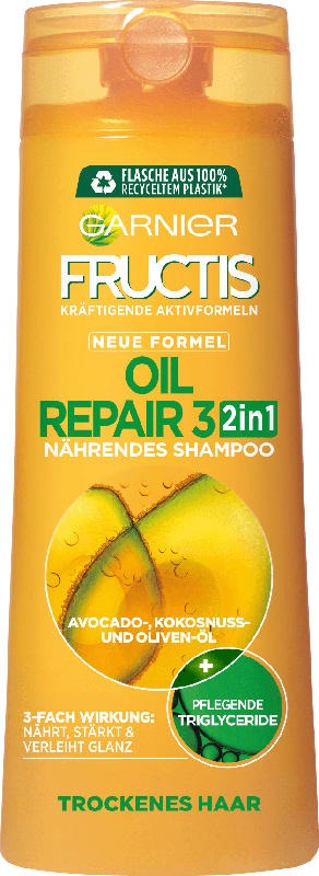 Fructis Shampoo Oil Repair 2in1