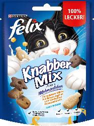 Felix Snack für Katzen, KnabberMix Milchmäulchen