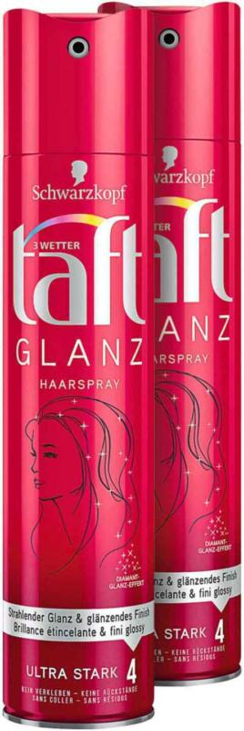 Taft Hairspray Gloss 2 x 250 ml -