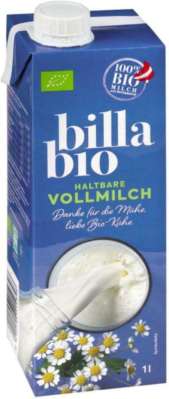 BILLA Bio Haltbarmilch 3.5%
