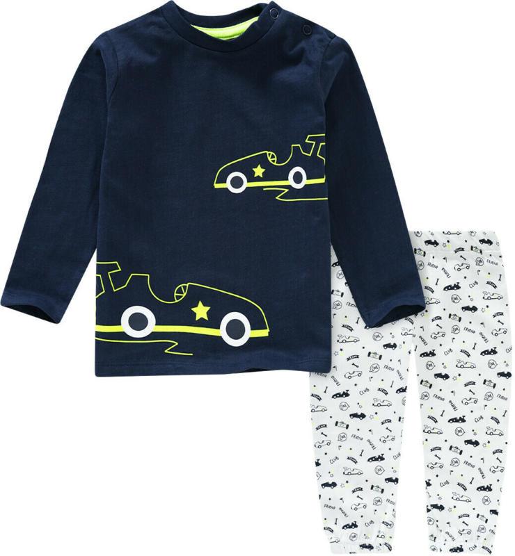 Baby Schlafanzug mit Rennwagen-Motiv (Nur online)