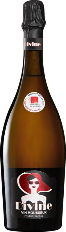 Divine Vin mousseux Suisse extra dry, Suisse, 75 cl