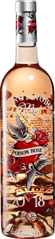 Poison Rosé Pinot Noir Pays d'Oc IGP, 2020, Pays d'Oc, France, 75 cl