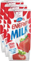 Emmi Energy Milk , Fraise, 3 x 330 ml