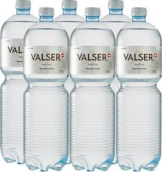 Eau minérale Plate Valser, 6 x 1,5 litre