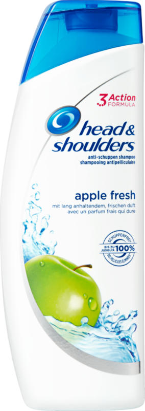 Shampooing antipelliculaire Head & Shoulders, Apple Fresh, 500 ml