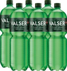 Acqua minerale Frizzante Valser, 6 x 1,5 litri