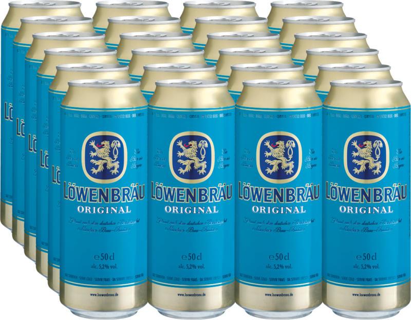 Münchner Löwenbräu Bier Original, 24 x 50 cl