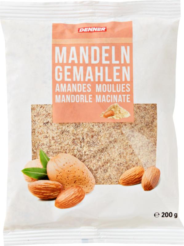 Denner Mandeln, gemahlen, 200 g