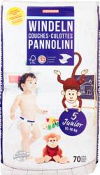 Denner Babywindeln Junior , Grösse 5, 10-16 kg, 70 Stück