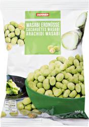 Cacahuètes au wasabi Denner, 200 g