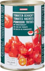 Denner Tomaten gehackt, in Tomatensaft, 400 g