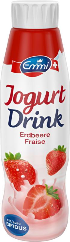 Yogourt à boire bifidus Emmi, Fraise, 500 ml