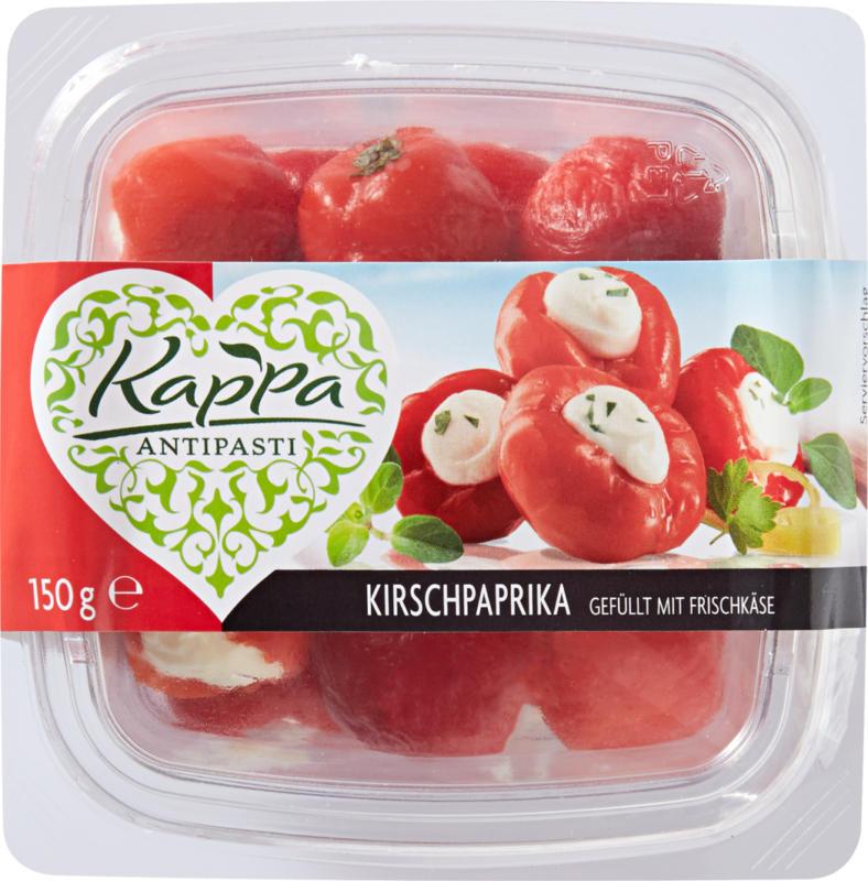 Kappa Kirschpaprika gefüllt mit Frischkäse , 150 g