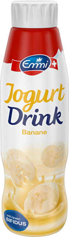Yogourt à boire bifidus Emmi, Banane, 500 ml