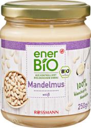 Crema di mandorla bianca enerBiO, 100% mandorle sbollentate, 250 g
