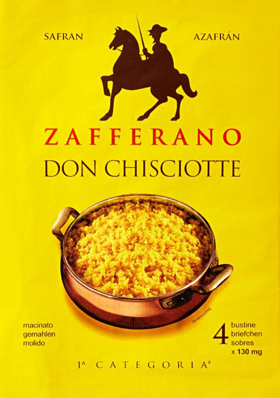 Safran Don Chisciotte, moulu, 4 x 150 mg