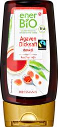Sirop d'agave foncé enerBiO , Douceur intense, 250 ml