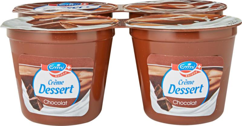 Crème Dessert Emmi, Cioccolato,  4 x 125 g