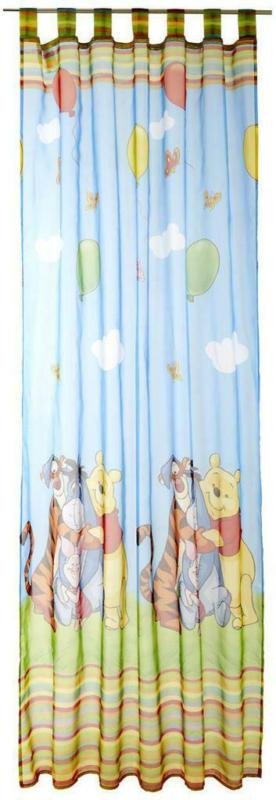 Vorhang mit Schlaufen Winnie The Pooh B: 140cm, Bunt