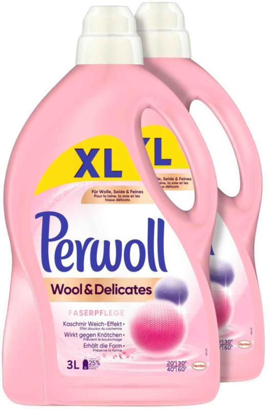 Perwoll Wool & Delicates 3D 2 x 3 litri -