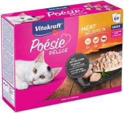 Vitakraft Poésie Délice Meat Selection 6 x 85 g    -