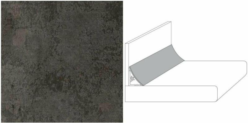 """Wandanschlussprofil Plus """"metall versicolour"""", 590x20x30 mm"""