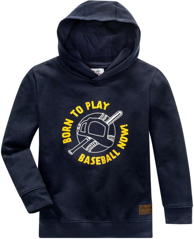Jungen Sweatshirt mit Baseball-Motiv (Nur online)