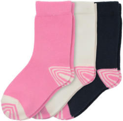 3 Paar Baby Socken in verschiedenen Dessins (Nur online)