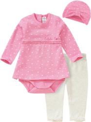 Newborn Bodykleid, Leggings und Mütze (Nur online)