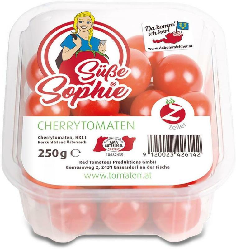 Da komm ich her! Cherrytomaten 'Süße Sophie' aus Österreich