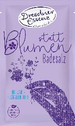 Dresdner Essenz Badesalz statt Blumen