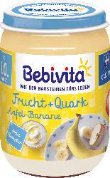 Bebivita Frucht&Joghurt Apfel-Banane Quark, ab dem 10.Monat