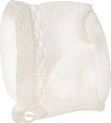 ALANA Baby Mütze, Gr. 38/39, Erstausstattung für Neugeborene in Bio-Baumwolle, natur, für Mädchen und Jungen