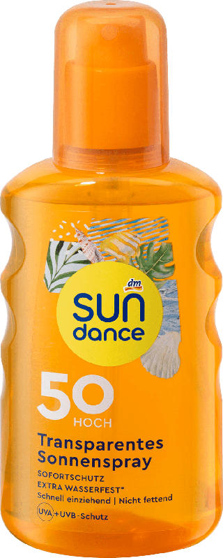 SUNDANCE Sonnenspray transparent LSF 50