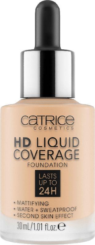 Catrice Make-up HD Liquid Coverage Foundation Fair Beige 008