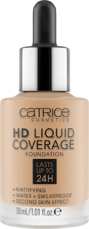 Catrice Make-up HD Liquid Coverage Foundation Nude Beige 032
