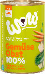 dm-drogerie markt WOW Nassfutter für Hunde, 100% Gemüse & Obst