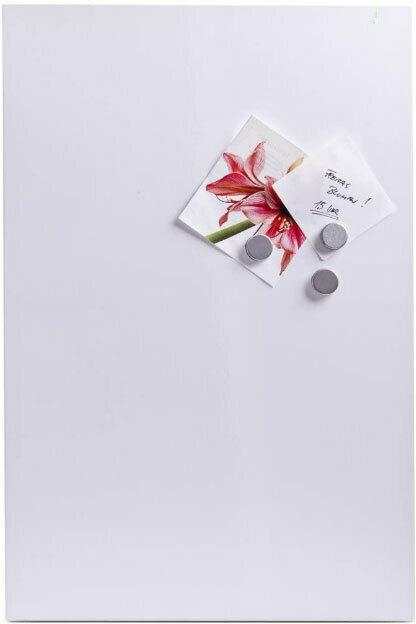Magnettafel weiß, Metall, 60x40 cm