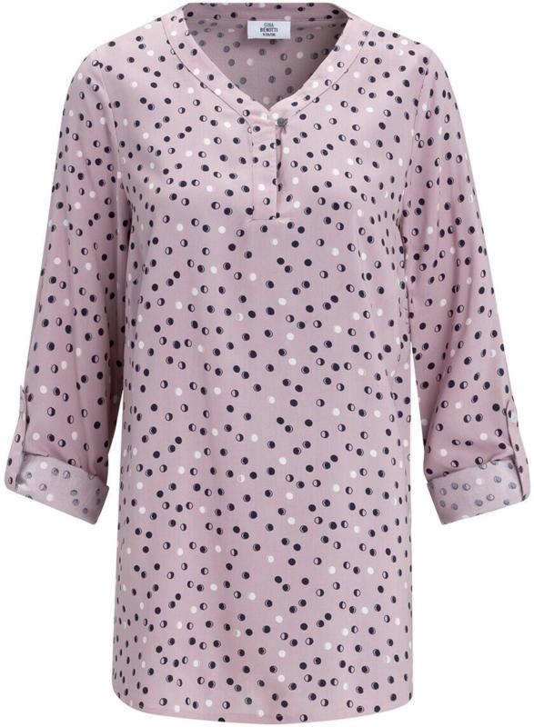 Damen Bluse mit Serafino-Ausschnitt (Nur online)