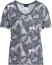 Damen T-Shirt mit floralem Allover-Motiv (Nur online)