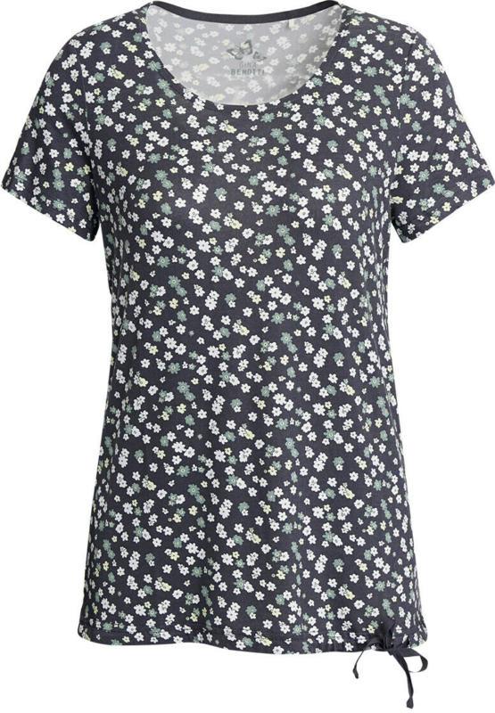 Damen T-Shirt im Millefleur-Dessin (Nur online)