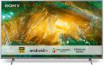 MediaMarkt KD-49XH8077 Fernseher 49 Zoll 4K UHD Smart Android TV, silber