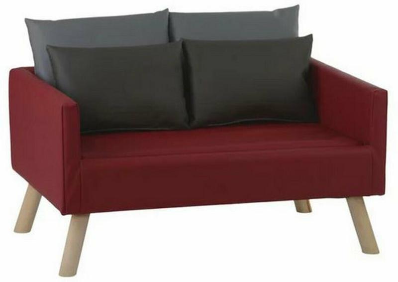 "Hundesofa ""Daja"", 100x52x65 cm, rot Rot"