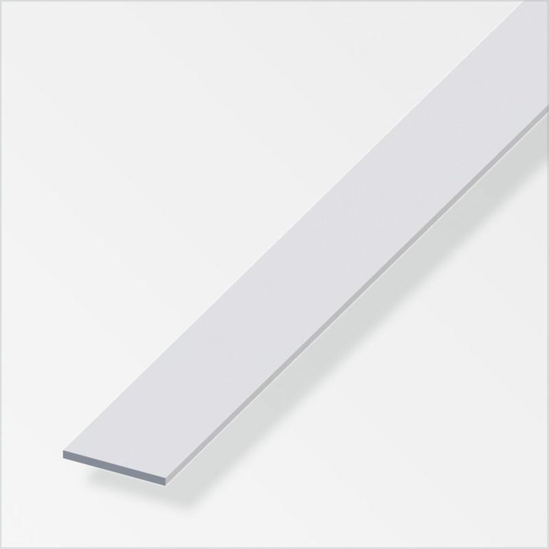Flachstange, 30x2mm, 1m, silber 3 cm | 100 cm